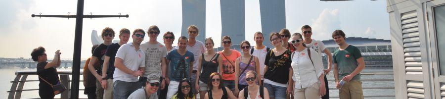 Day 1, Marina Bay Sands